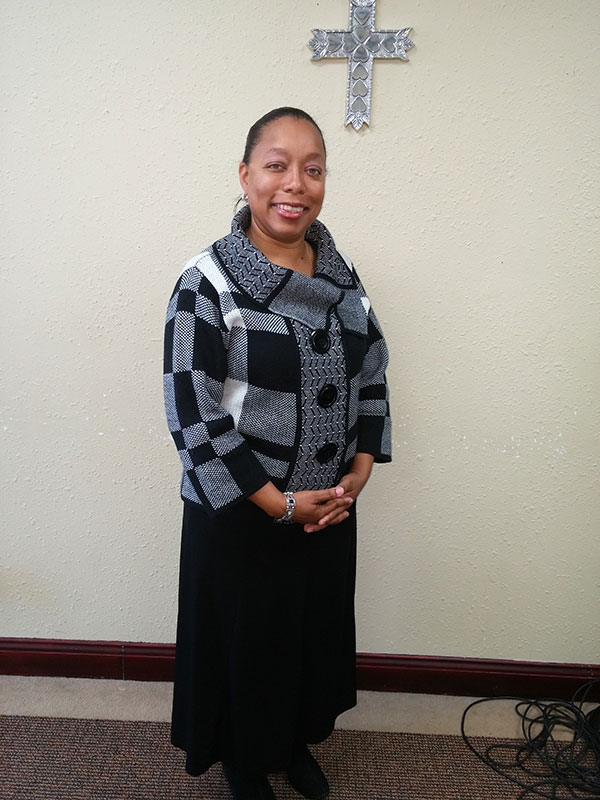 Minister Desiree Thomas